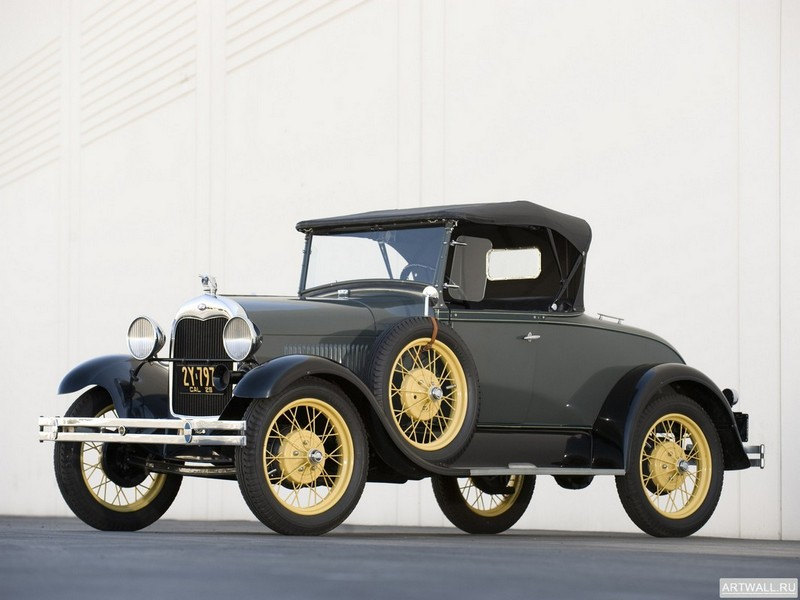 Постер Ford Model A Standard Coupe 1928-29, 27x20 см, на бумагеFord<br>Постер на холсте или бумаге. Любого нужного вам размера. В раме или без. Подвес в комплекте. Трехслойная надежная упаковка. Доставим в любую точку России. Вам осталось только повесить картину на стену!<br>