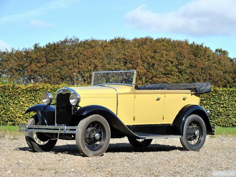 Постер Ford Model A Tudor 1928, 27x20 см, на бумагеFord<br>Постер на холсте или бумаге. Любого нужного вам размера. В раме или без. Подвес в комплекте. Трехслойная надежная упаковка. Доставим в любую точку России. Вам осталось только повесить картину на стену!<br>