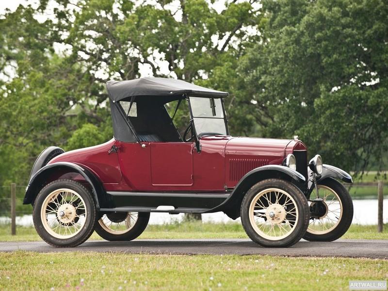 Постер Ford Model T Roadster 1926, 27x20 см, на бумагеFord<br>Постер на холсте или бумаге. Любого нужного вам размера. В раме или без. Подвес в комплекте. Трехслойная надежная упаковка. Доставим в любую точку России. Вам осталось только повесить картину на стену!<br>