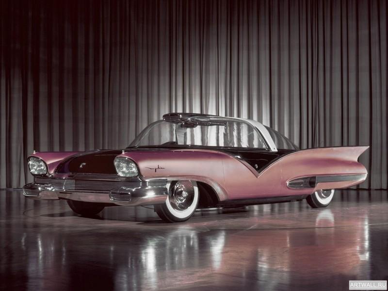 Ford Mystere Concept Car 1956, 27x20 см, на бумагеFord<br>Постер на холсте или бумаге. Любого нужного вам размера. В раме или без. Подвес в комплекте. Трехслойная надежная упаковка. Доставим в любую точку России. Вам осталось только повесить картину на стену!<br>