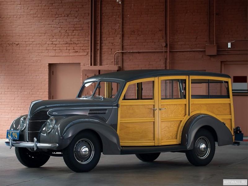 Постер Ford Standard Station Wagon 1939, 27x20 см, на бумагеFord<br>Постер на холсте или бумаге. Любого нужного вам размера. В раме или без. Подвес в комплекте. Трехслойная надежная упаковка. Доставим в любую точку России. Вам осталось только повесить картину на стену!<br>