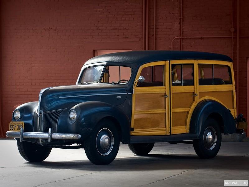 Постер Ford Standard Station Wagon 1940, 27x20 см, на бумагеFord<br>Постер на холсте или бумаге. Любого нужного вам размера. В раме или без. Подвес в комплекте. Трехслойная надежная упаковка. Доставим в любую точку России. Вам осталось только повесить картину на стену!<br>