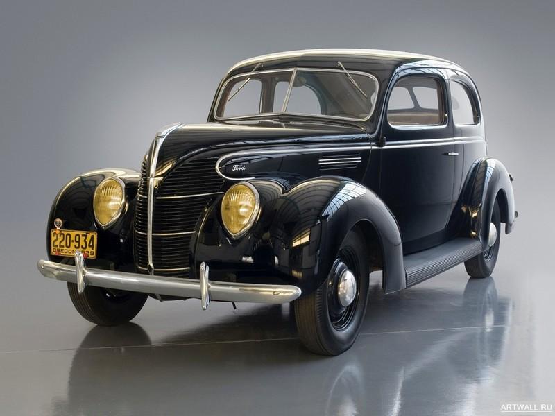 Постер Ford Standard Tudor Sedan (91A) 1939, 27x20 см, на бумагеFord<br>Постер на холсте или бумаге. Любого нужного вам размера. В раме или без. Подвес в комплекте. Трехслойная надежная упаковка. Доставим в любую точку России. Вам осталось только повесить картину на стену!<br>