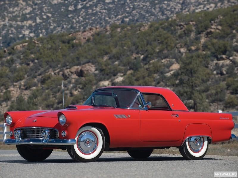 Постер Ford Thunderbird 1955, 27x20 см, на бумагеFord<br>Постер на холсте или бумаге. Любого нужного вам размера. В раме или без. Подвес в комплекте. Трехслойная надежная упаковка. Доставим в любую точку России. Вам осталось только повесить картину на стену!<br>