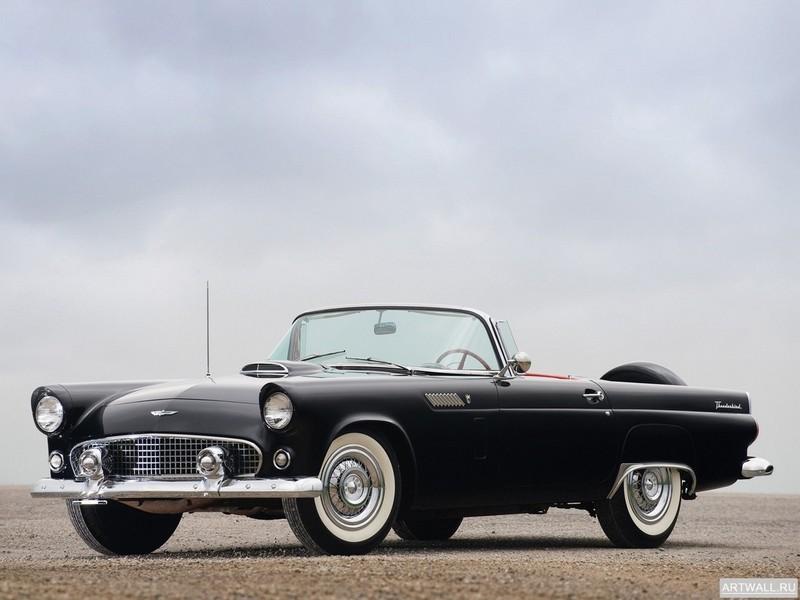 Постер Ford Thunderbird 1956, 27x20 см, на бумагеFord<br>Постер на холсте или бумаге. Любого нужного вам размера. В раме или без. Подвес в комплекте. Трехслойная надежная упаковка. Доставим в любую точку России. Вам осталось только повесить картину на стену!<br>