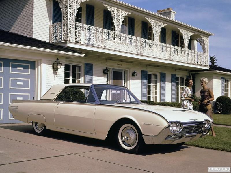 Постер Ford Thunderbird 1961-63, 27x20 см, на бумагеFord<br>Постер на холсте или бумаге. Любого нужного вам размера. В раме или без. Подвес в комплекте. Трехслойная надежная упаковка. Доставим в любую точку России. Вам осталось только повесить картину на стену!<br>