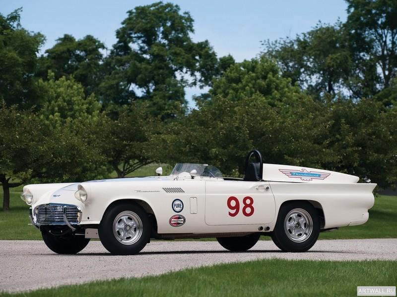 Постер Ford Thunderbird Experimental Race Car 1957, 27x20 см, на бумагеFord<br>Постер на холсте или бумаге. Любого нужного вам размера. В раме или без. Подвес в комплекте. Трехслойная надежная упаковка. Доставим в любую точку России. Вам осталось только повесить картину на стену!<br>