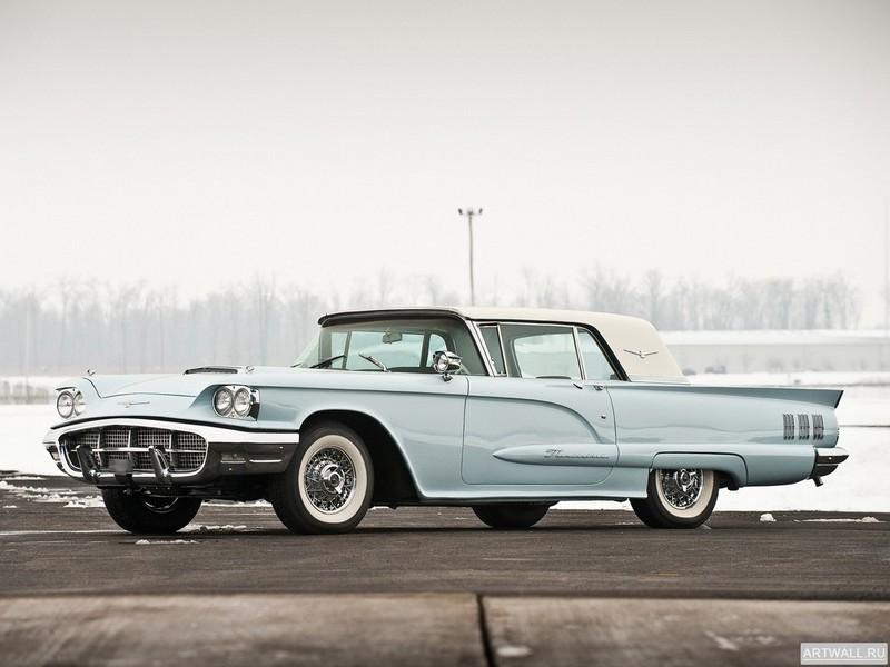 Постер Ford Thunderbird Hardtop Coupe 1960, 27x20 см, на бумагеFord<br>Постер на холсте или бумаге. Любого нужного вам размера. В раме или без. Подвес в комплекте. Трехслойная надежная упаковка. Доставим в любую точку России. Вам осталось только повесить картину на стену!<br>
