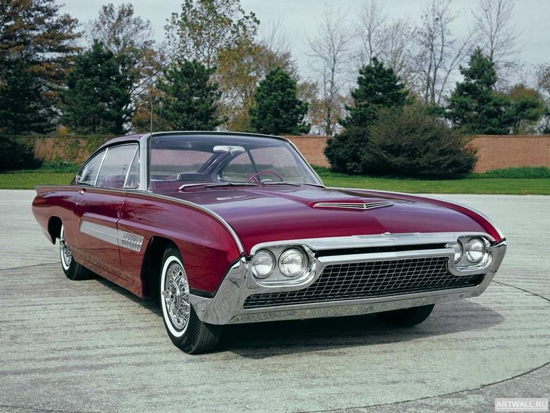 Постер Ford Thunderbird Italien Concept Car 1963, 27x20 см, на бумагеFord<br>Постер на холсте или бумаге. Любого нужного вам размера. В раме или без. Подвес в комплекте. Трехслойная надежная упаковка. Доставим в любую точку России. Вам осталось только повесить картину на стену!<br>