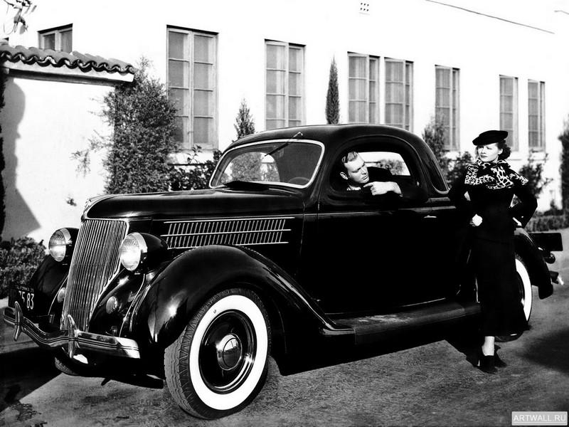 Постер Ford V8 Deluxe 3-window Coupe (68-720) 1936, 27x20 см, на бумагеFord<br>Постер на холсте или бумаге. Любого нужного вам размера. В раме или без. Подвес в комплекте. Трехслойная надежная упаковка. Доставим в любую точку России. Вам осталось только повесить картину на стену!<br>