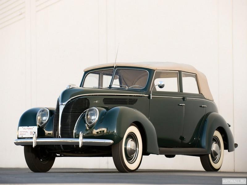Постер Ford V8 Deluxe Convertible Sedan (81A-740) 1938, 27x20 см, на бумагеFord<br>Постер на холсте или бумаге. Любого нужного вам размера. В раме или без. Подвес в комплекте. Трехслойная надежная упаковка. Доставим в любую точку России. Вам осталось только повесить картину на стену!<br>