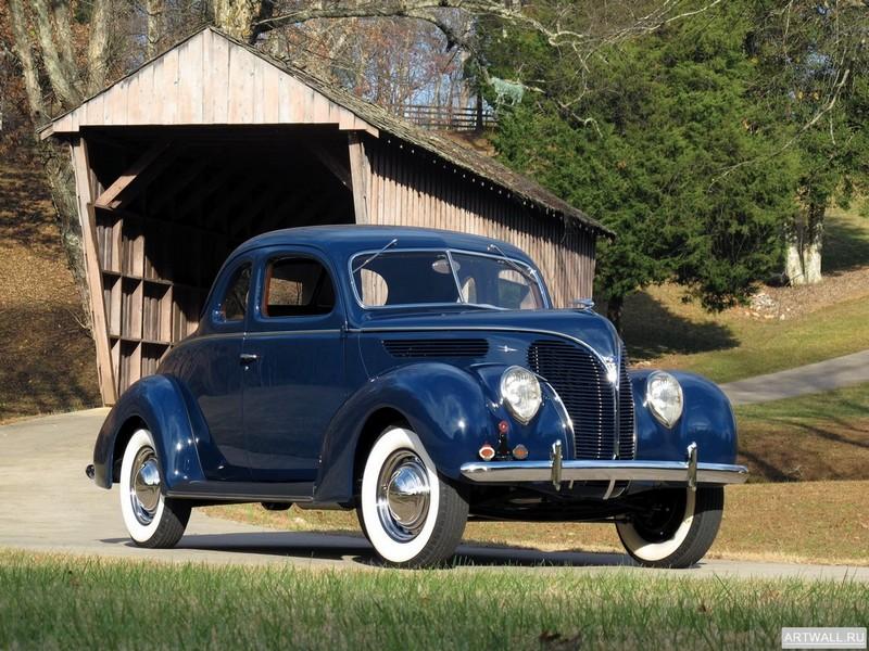 Ford V8 Deluxe Coupe (81A-770В) 1938, 27x20 см, на бумагеFord<br>Постер на холсте или бумаге. Любого нужного вам размера. В раме или без. Подвес в комплекте. Трехслойная надежная упаковка. Доставим в любую точку России. Вам осталось только повесить картину на стену!<br>