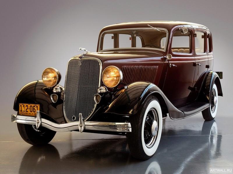 Постер Ford V8 Deluxe Fordor Sedan (40-730) 1933, 27x20 см, на бумагеFord<br>Постер на холсте или бумаге. Любого нужного вам размера. В раме или без. Подвес в комплекте. Трехслойная надежная упаковка. Доставим в любую точку России. Вам осталось только повесить картину на стену!<br>