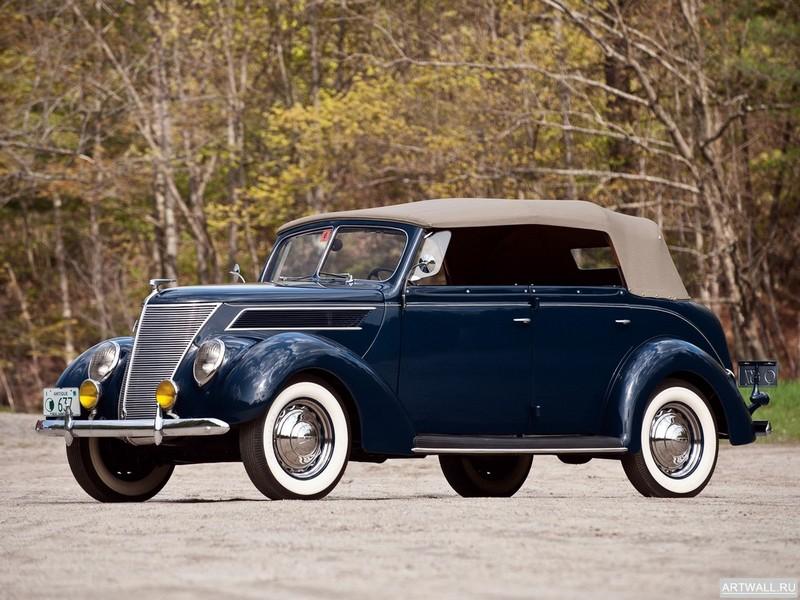 Постер Ford V8 Deluxe Phaeton (78-750) 1937, 27x20 см, на бумагеFord<br>Постер на холсте или бумаге. Любого нужного вам размера. В раме или без. Подвес в комплекте. Трехслойная надежная упаковка. Доставим в любую точку России. Вам осталось только повесить картину на стену!<br>