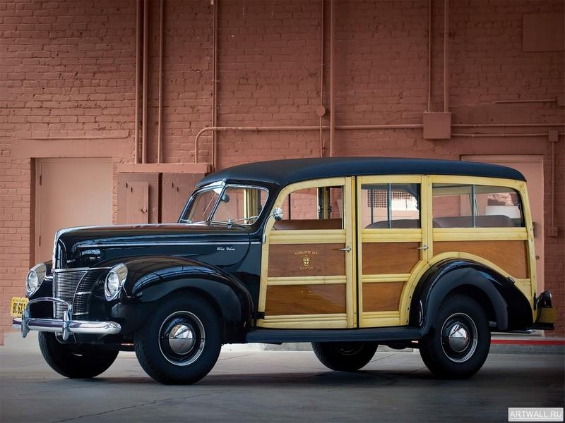Постер Ford V8 Deluxe Station Wagon (01A-79B) 1940, 27x20 см, на бумагеFord<br>Постер на холсте или бумаге. Любого нужного вам размера. В раме или без. Подвес в комплекте. Трехслойная надежная упаковка. Доставим в любую точку России. Вам осталось только повесить картину на стену!<br>