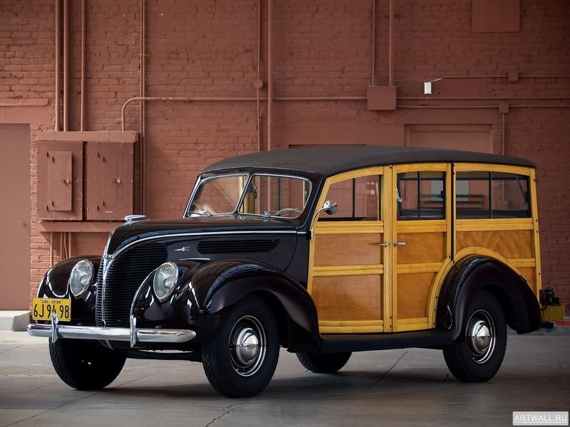 Постер Ford V8 Deluxe Station Wagon (81A-790) 1938, 27x20 см, на бумагеFord<br>Постер на холсте или бумаге. Любого нужного вам размера. В раме или без. Подвес в комплекте. Трехслойная надежная упаковка. Доставим в любую точку России. Вам осталось только повесить картину на стену!<br>