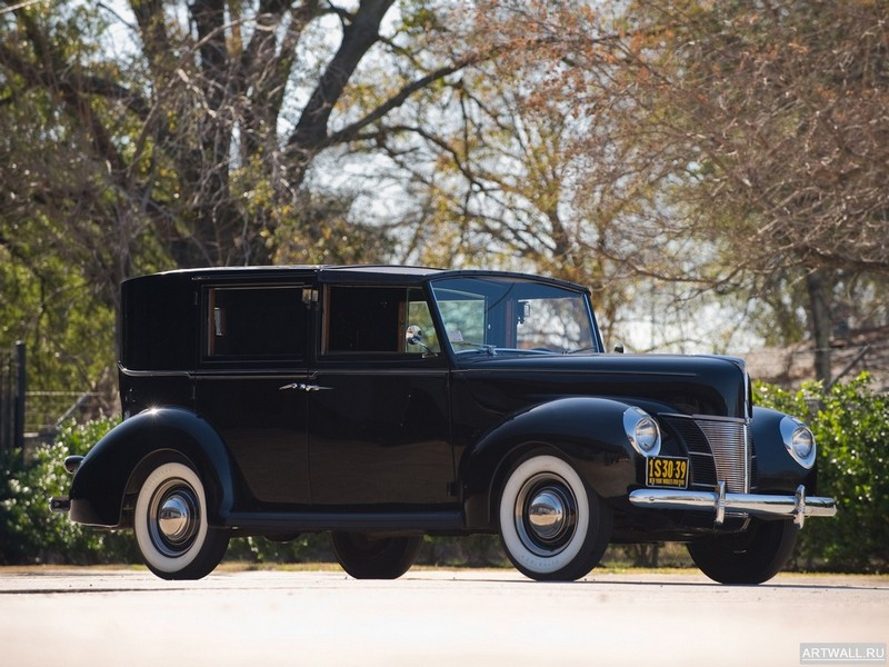 Постер Ford V8 Panel Brougham by Rollson (01A) 1940, 27x20 см, на бумагеFord<br>Постер на холсте или бумаге. Любого нужного вам размера. В раме или без. Подвес в комплекте. Трехслойная надежная упаковка. Доставим в любую точку России. Вам осталось только повесить картину на стену!<br>