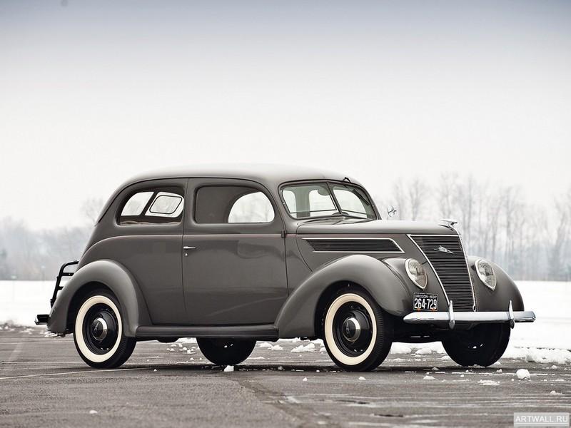 Постер Ford V8 Standard Tudor Sedan (78-700A) 1937, 27x20 см, на бумагеFord<br>Постер на холсте или бумаге. Любого нужного вам размера. В раме или без. Подвес в комплекте. Трехслойная надежная упаковка. Доставим в любую точку России. Вам осталось только повесить картину на стену!<br>