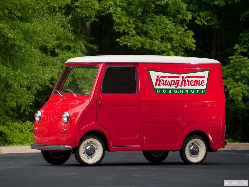 Постер Goggomobil TL-400 Transporter Van 1958, 27x20 см, на бумагеРазные марки<br>Постер на холсте или бумаге. Любого нужного вам размера. В раме или без. Подвес в комплекте. Трехслойная надежная упаковка. Доставим в любую точку России. Вам осталось только повесить картину на стену!<br>