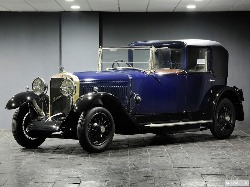 Hispano-Suiza H6B Coupe Chauffeur by Kellner 1925, 27x20 см, на бумагеHispano-Suiza<br>Постер на холсте или бумаге. Любого нужного вам размера. В раме или без. Подвес в комплекте. Трехслойная надежная упаковка. Доставим в любую точку России. Вам осталось только повесить картину на стену!<br>