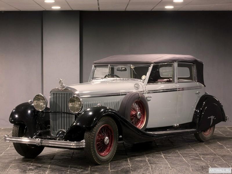 Постер Hispano-Suiza HS26 Torpedo by Felber 1934, 27x20 см, на бумагеHispano-Suiza<br>Постер на холсте или бумаге. Любого нужного вам размера. В раме или без. Подвес в комплекте. Трехслойная надежная упаковка. Доставим в любую точку России. Вам осталось только повесить картину на стену!<br>