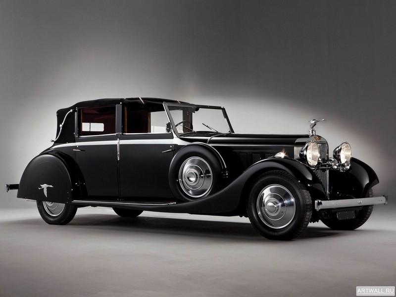 Постер Hispano-Suiza J12 Sedanca de Ville 1935, 27x20 см, на бумагеHispano-Suiza<br>Постер на холсте или бумаге. Любого нужного вам размера. В раме или без. Подвес в комплекте. Трехслойная надежная упаковка. Доставим в любую точку России. Вам осталось только повесить картину на стену!<br>