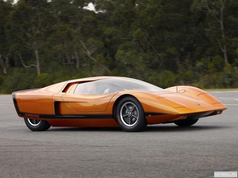 Постер Holden Hurricane Concept Car 1969, 27x20 см, на бумагеHolden<br>Постер на холсте или бумаге. Любого нужного вам размера. В раме или без. Подвес в комплекте. Трехслойная надежная упаковка. Доставим в любую точку России. Вам осталось только повесить картину на стену!<br>