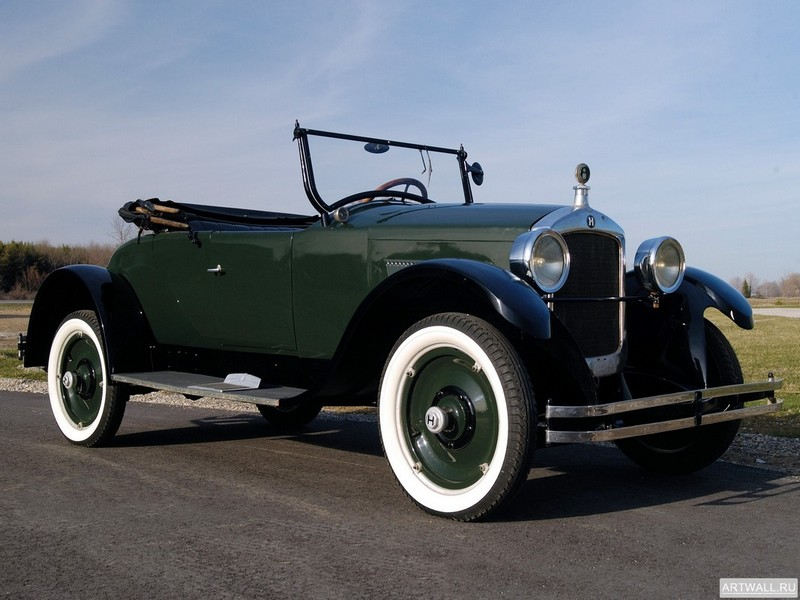 Постер Hupmobile Series R Special Roadster 1924, 27x20 см, на бумагеРазные марки<br>Постер на холсте или бумаге. Любого нужного вам размера. В раме или без. Подвес в комплекте. Трехслойная надежная упаковка. Доставим в любую точку России. Вам осталось только повесить картину на стену!<br>