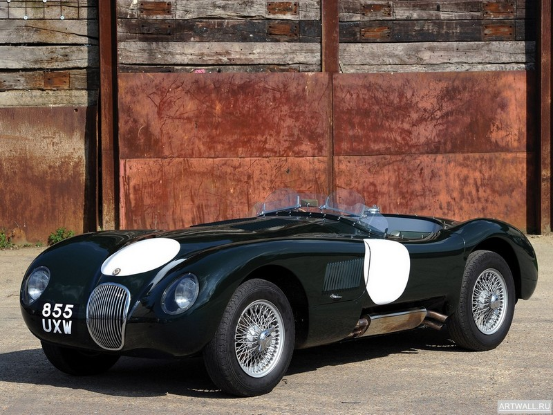 Постер Jaguar C-Type 1951-53, 27x20 см, на бумагеJaguar<br>Постер на холсте или бумаге. Любого нужного вам размера. В раме или без. Подвес в комплекте. Трехслойная надежная упаковка. Доставим в любую точку России. Вам осталось только повесить картину на стену!<br>