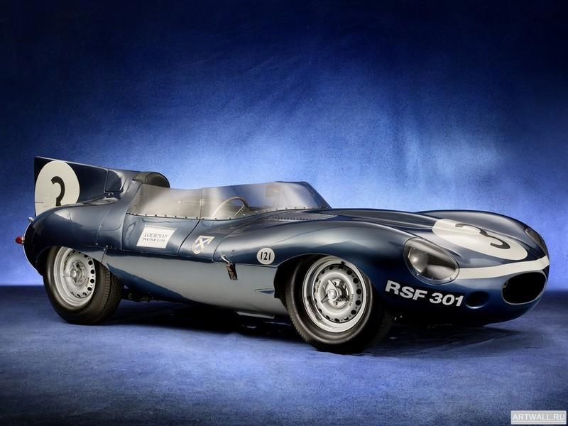 Постер Jaguar D-Type 1955-57, 27x20 см, на бумагеJaguar<br>Постер на холсте или бумаге. Любого нужного вам размера. В раме или без. Подвес в комплекте. Трехслойная надежная упаковка. Доставим в любую точку России. Вам осталось только повесить картину на стену!<br>