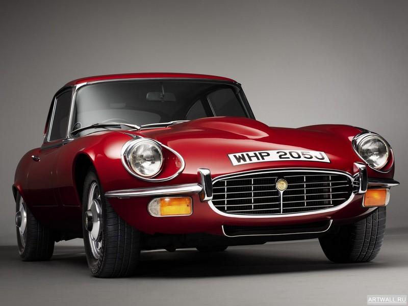 Постер Jaguar E-Type V12 Fixed Head Coupe (Series III) 1971-75, 27x20 см, на бумагеJaguar<br>Постер на холсте или бумаге. Любого нужного вам размера. В раме или без. Подвес в комплекте. Трехслойная надежная упаковка. Доставим в любую точку России. Вам осталось только повесить картину на стену!<br>