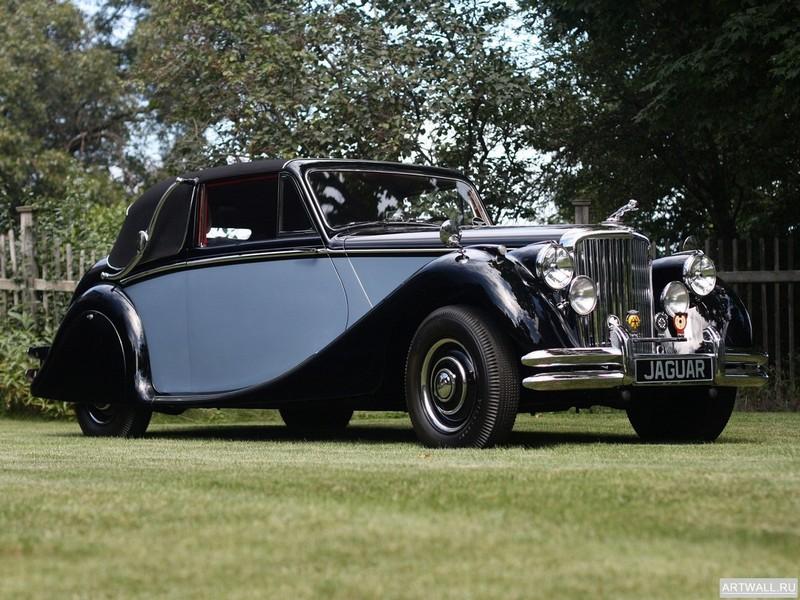 Jaguar Mark V Drophead Сoupe 1948-51, 27x20 см, на бумагеJaguar<br>Постер на холсте или бумаге. Любого нужного вам размера. В раме или без. Подвес в комплекте. Трехслойная надежная упаковка. Доставим в любую точку России. Вам осталось только повесить картину на стену!<br>