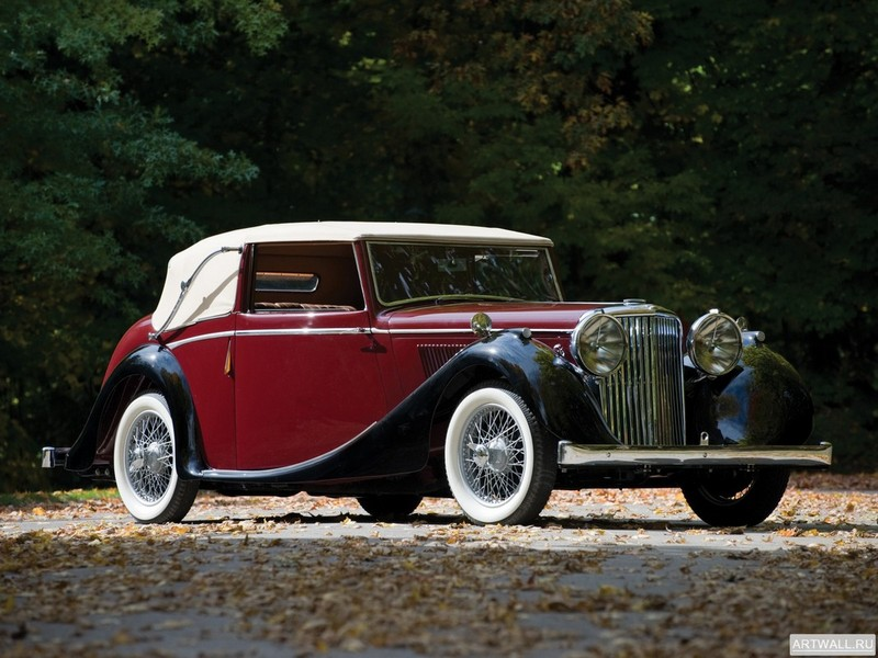 Постер Jaguar MKIV Drophead Coupe 1948, 27x20 см, на бумагеJaguar<br>Постер на холсте или бумаге. Любого нужного вам размера. В раме или без. Подвес в комплекте. Трехслойная надежная упаковка. Доставим в любую точку России. Вам осталось только повесить картину на стену!<br>