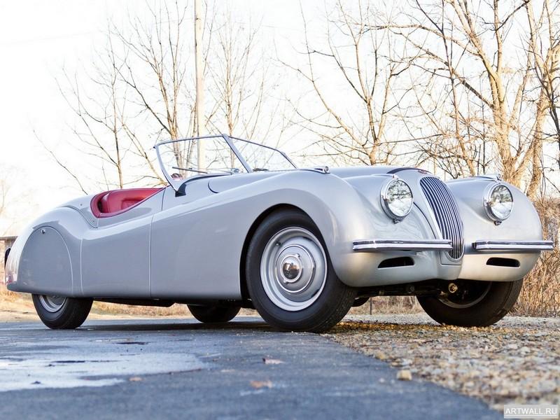 Постер Jaguar XK120 Alloy Roadster 1949-54, 27x20 см, на бумагеJaguar<br>Постер на холсте или бумаге. Любого нужного вам размера. В раме или без. Подвес в комплекте. Трехслойная надежная упаковка. Доставим в любую точку России. Вам осталось только повесить картину на стену!<br>
