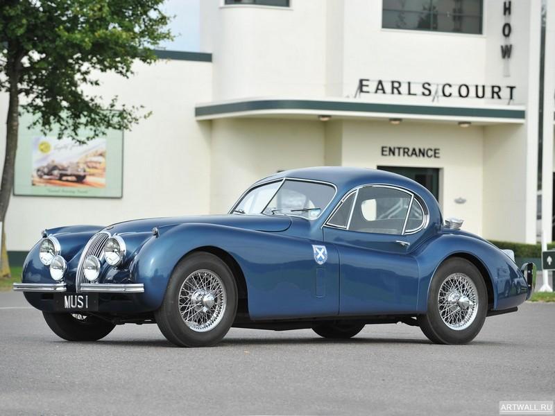 Постер Jaguar XK120 Coupe 1949-54, 27x20 см, на бумагеJaguar<br>Постер на холсте или бумаге. Любого нужного вам размера. В раме или без. Подвес в комплекте. Трехслойная надежная упаковка. Доставим в любую точку России. Вам осталось только повесить картину на стену!<br>