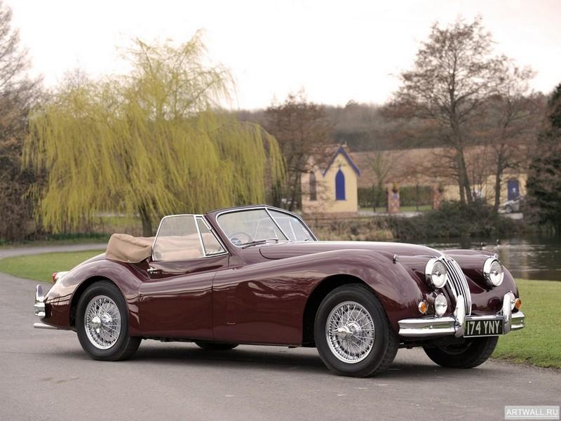 Постер Jaguar XK140 Drophead Coupe 1954-57, 27x20 см, на бумагеJaguar<br>Постер на холсте или бумаге. Любого нужного вам размера. В раме или без. Подвес в комплекте. Трехслойная надежная упаковка. Доставим в любую точку России. Вам осталось только повесить картину на стену!<br>