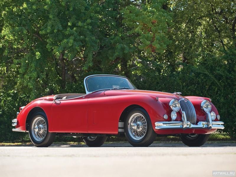 Постер Jaguar XK150S 1958-60, 27x20 см, на бумагеJaguar<br>Постер на холсте или бумаге. Любого нужного вам размера. В раме или без. Подвес в комплекте. Трехслойная надежная упаковка. Доставим в любую точку России. Вам осталось только повесить картину на стену!<br>