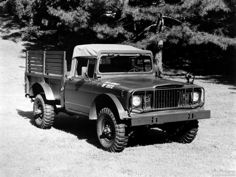 Постер Kaiser Jeep M715 Military Truck 1967-69, 27x20 см, на бумагеРазные марки<br>Постер на холсте или бумаге. Любого нужного вам размера. В раме или без. Подвес в комплекте. Трехслойная надежная упаковка. Доставим в любую точку России. Вам осталось только повесить картину на стену!<br>