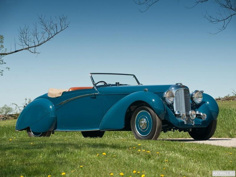 Постер Lagonda LG6 Rapide 1939, 27x20 см, на бумагеLogonda<br>Постер на холсте или бумаге. Любого нужного вам размера. В раме или без. Подвес в комплекте. Трехслойная надежная упаковка. Доставим в любую точку России. Вам осталось только повесить картину на стену!<br>
