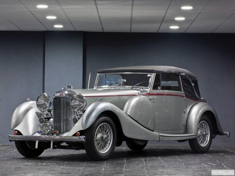 Постер Lagonda LG6 Rapide Drop Head Coupe 1938, 27x20 см, на бумагеLogonda<br>Постер на холсте или бумаге. Любого нужного вам размера. В раме или без. Подвес в комплекте. Трехслойная надежная упаковка. Доставим в любую точку России. Вам осталось только повесить картину на стену!<br>