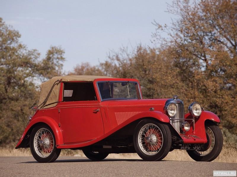 Lagonda Rapier Drophead Coupe 1935, 27x20 см, на бумагеLogonda<br>Постер на холсте или бумаге. Любого нужного вам размера. В раме или без. Подвес в комплекте. Трехслойная надежная упаковка. Доставим в любую точку России. Вам осталось только повесить картину на стену!<br>