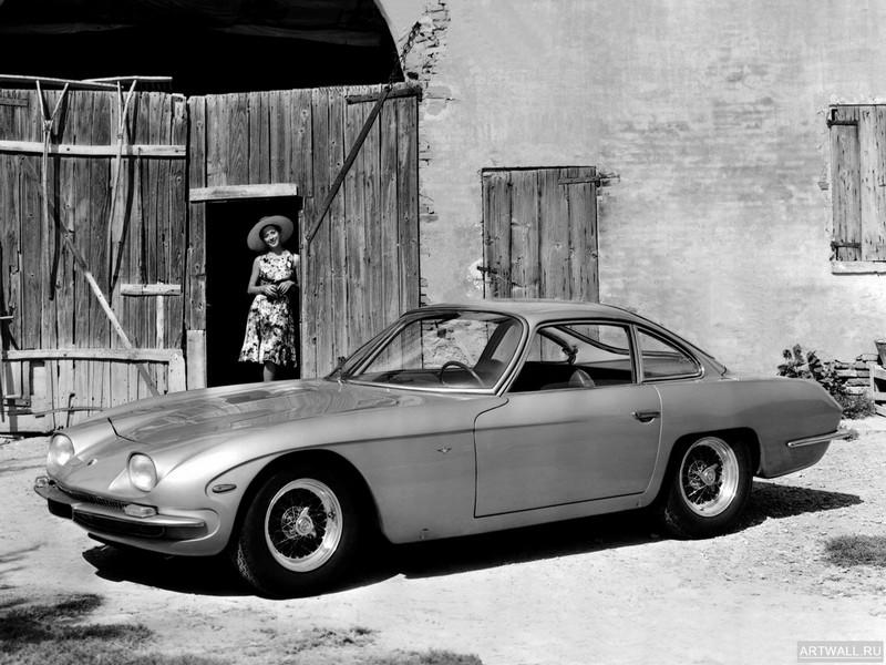Постер Lamborghini 350 GT 1964-66 дизайн Touring, 27x20 см, на бумагеLamborghini<br>Постер на холсте или бумаге. Любого нужного вам размера. В раме или без. Подвес в комплекте. Трехслойная надежная упаковка. Доставим в любую точку России. Вам осталось только повесить картину на стену!<br>