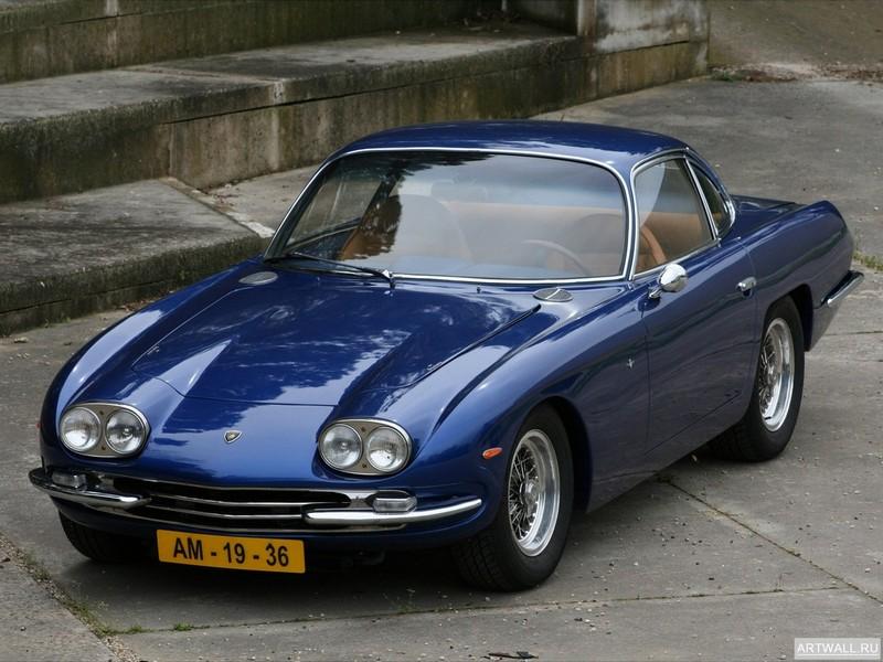 Постер Lamborghini 400 GT 2+2 1966-68, 27x20 см, на бумагеLamborghini<br>Постер на холсте или бумаге. Любого нужного вам размера. В раме или без. Подвес в комплекте. Трехслойная надежная упаковка. Доставим в любую точку России. Вам осталось только повесить картину на стену!<br>