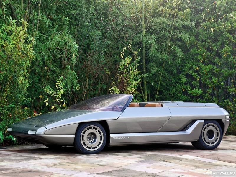 Постер Lamborghini Athon Speedster Concept 1980 дизайн Bertone, 27x20 см, на бумагеLamborghini<br>Постер на холсте или бумаге. Любого нужного вам размера. В раме или без. Подвес в комплекте. Трехслойная надежная упаковка. Доставим в любую точку России. Вам осталось только повесить картину на стену!<br>