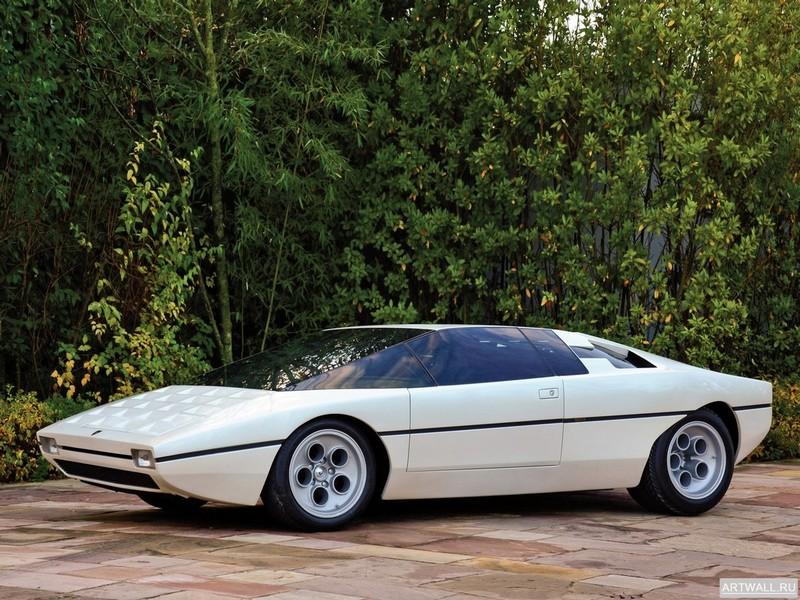 Постер Lamborghini Bravo P114 Concept 1974 дизайн Bertone, 27x20 см, на бумагеLamborghini<br>Постер на холсте или бумаге. Любого нужного вам размера. В раме или без. Подвес в комплекте. Трехслойная надежная упаковка. Доставим в любую точку России. Вам осталось только повесить картину на стену!<br>