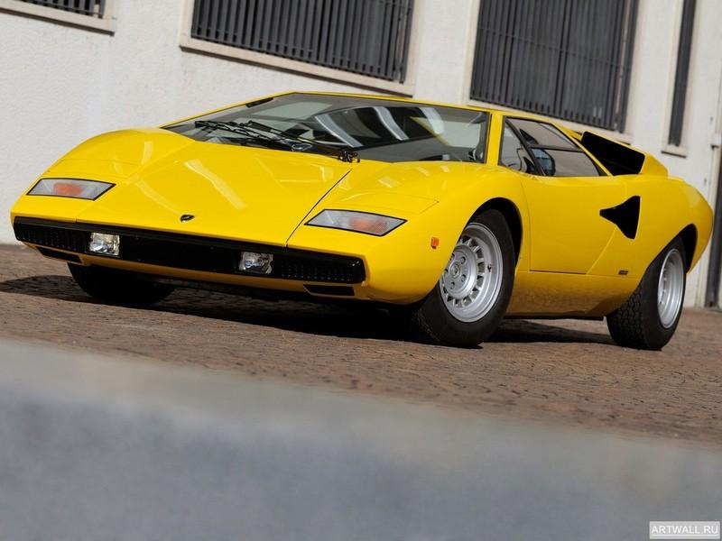 Lamborghini Countach LP400 1974-78 дизайн Bertone, 27x20 см, на бумагеLamborghini<br>Постер на холсте или бумаге. Любого нужного вам размера. В раме или без. Подвес в комплекте. Трехслойная надежная упаковка. Доставим в любую точку России. Вам осталось только повесить картину на стену!<br>