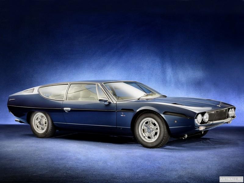 Постер Lamborghini Espada 400 GT (Series I) 1968-69 дизайн Bertone, 27x20 см, на бумагеLamborghini<br>Постер на холсте или бумаге. Любого нужного вам размера. В раме или без. Подвес в комплекте. Трехслойная надежная упаковка. Доставим в любую точку России. Вам осталось только повесить картину на стену!<br>