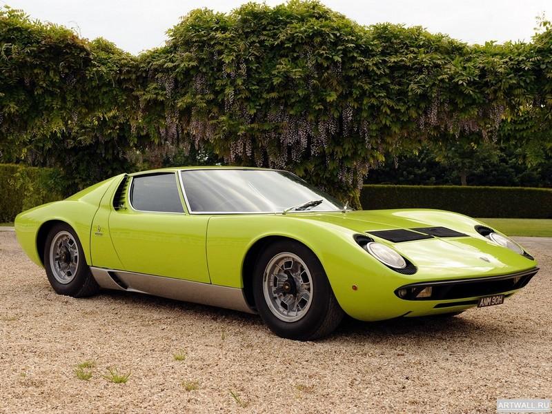Постер Lamborghini Miura P400 S 1969-71 дизайн Bertone, 27x20 см, на бумагеLamborghini<br>Постер на холсте или бумаге. Любого нужного вам размера. В раме или без. Подвес в комплекте. Трехслойная надежная упаковка. Доставим в любую точку России. Вам осталось только повесить картину на стену!<br>