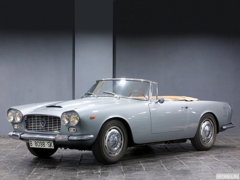 Постер Lancia Flaminia Convertible 1960-64 дизайн Touring, 27x20 см, на бумагеLancia<br>Постер на холсте или бумаге. Любого нужного вам размера. В раме или без. Подвес в комплекте. Трехслойная надежная упаковка. Доставим в любую точку России. Вам осталось только повесить картину на стену!<br>