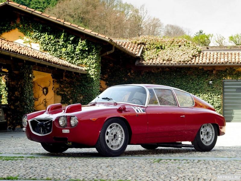 Постер Lancia Flavia Sport Corsa (815) 1964 дизайн Zagato, 27x20 см, на бумагеLancia<br>Постер на холсте или бумаге. Любого нужного вам размера. В раме или без. Подвес в комплекте. Трехслойная надежная упаковка. Доставим в любую точку России. Вам осталось только повесить картину на стену!<br>